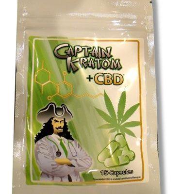 Captain Kratom CBD: Kratom Review